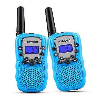 Miavogo kids toys walkie talkies - pmr446 8 channel 3km long range 2 way radio walkie talkie for kid wof52521