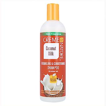 Creme Of Nature Milk detangler & Conditioner Shampoo 354 ml