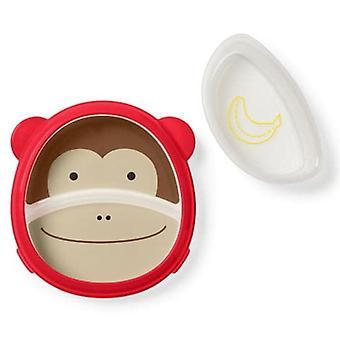 Skip*hop Zoo Food Plate » Come Monkey