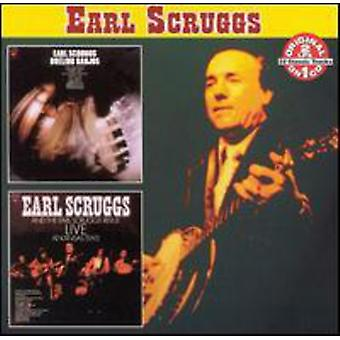 Earl Scruggs - Dueling Banjos/Live [CD] USA import