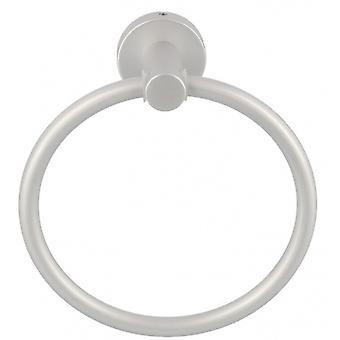 towel ring 17 x 18.6 cm light silver