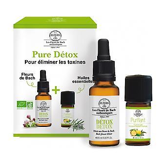 Duos Pure Detox - Elixir 20ml & Essential Oils 5ml 2 units