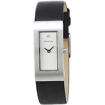 BERING Analoog Horloge Quartz Man met Lederen Band 10817-400