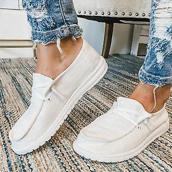 Zomer Canvas Vulcanize Flats Dames Loafers