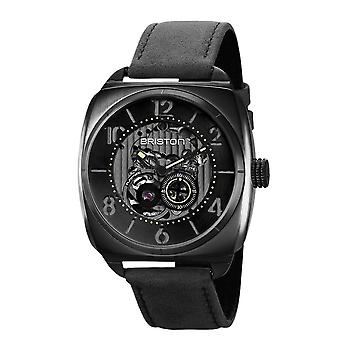 Briston 211042.SPB.SK.1.CH Streamliner Skeleton Black Strap Wristwatch
