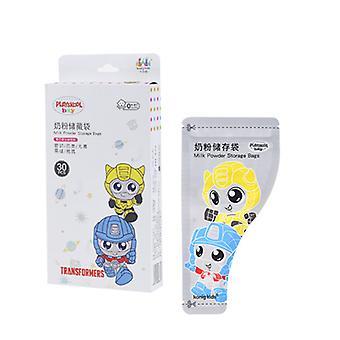 30pcs שקית אבקת חלב חד פעמי לתינוק, תיק אחסון אבקת חלב נייד