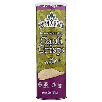 Veganrobs Crisps Cauliflower, Case of 12 X 5 Oz
