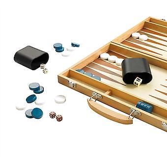 Drevená súprava Gibsons Deluxe Backgammon (15 palcov, 38 cm) - G389