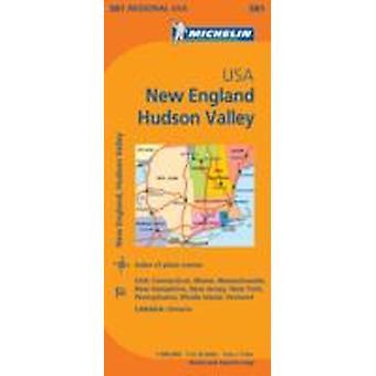 نيو إنجلاند هدسون فالي ميشلان الخريطة الإقليمية 581