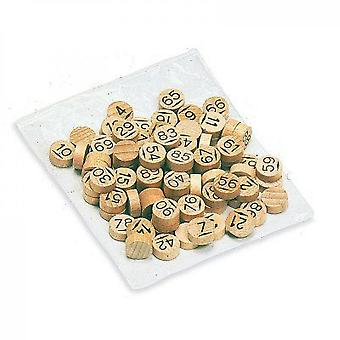 Jeujura Bag 90 Wooden Lottery Pawns