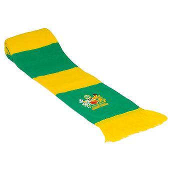Fan Originals Bar Scarf Newton Heath Green Yellow Colours