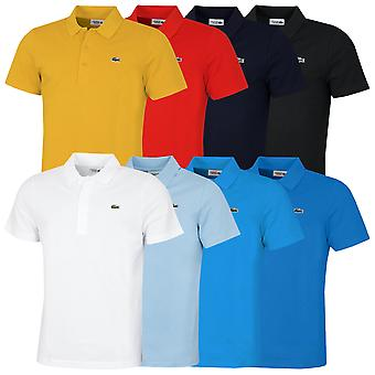 Lacoste Herren 2021 Sport Baumwolle Mischung Diamant Taft Ottoman Polo Shirt