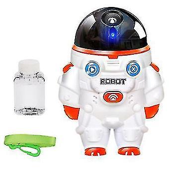 Дети Электрический робот в форме пузыря Maker с музыкой и светом