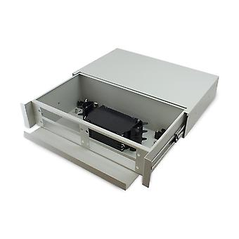 Serveredge 2Ru Fibre Sliding Patch Panel With Splice Cassette Splice