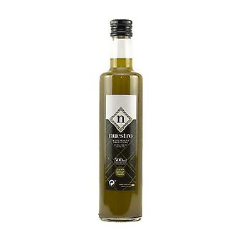 Unfiltered extra virgin olive oil 500 ml of oil