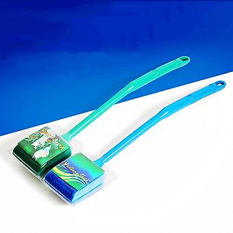 40cm Aquarium Fish Tank Double Sided Sponge Cleaning Brush Cleaner Scrubber New Household Accessories Tools Drop Shipping
