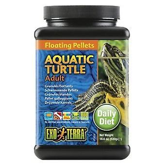Exo Terra Floating Pellets Adult Aquatic Turtle Food - 18.6 oz