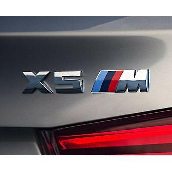 BMW X5 M X5M lettering emblem logo badge sticker X series CHROME X5 logo F15