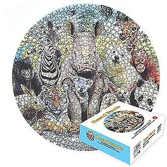 Animal educational decompression adult educational toys 1000pcs