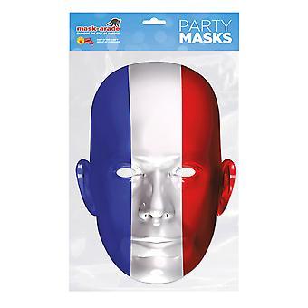 France Flag Party Mask