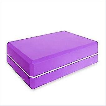 Yoga block skum tegelsten för stretching hjälp, gym, pilates, yoga etc.(Choklad)