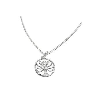 Set Zodiac Cancer + Chain Silver 925 39298 39298 39298
