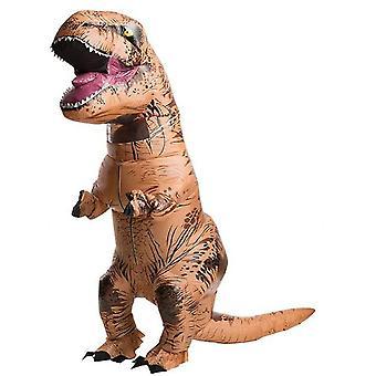 Официальный костюм надувного динозавра Jurassic World, доступный в размерах для взрослых и детей