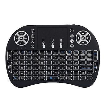 Multi-language 2.4ghz Wireless Mini Keyboard Touchpad