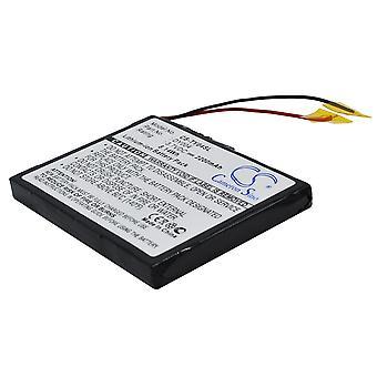 Battery for Rio Karma 20GB DY004 MP3 Digital Audio Player CS-TY04SL 2200mAh
