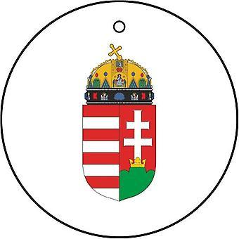 Hungary Coat Of Arms Car Air Freshener