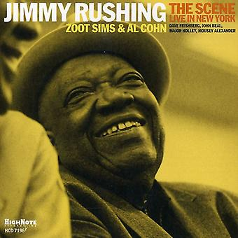 Jimmy Rushing - scène : Live in New York [CD] USA import
