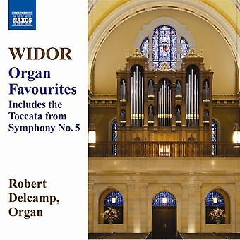C.M. Widor - Widor: Organ Favourites [CD] USA import