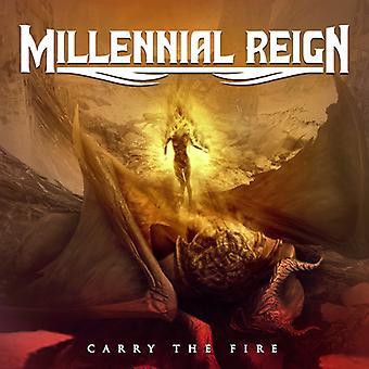 Millennial Reign - Carry the Fire [CD] USA import