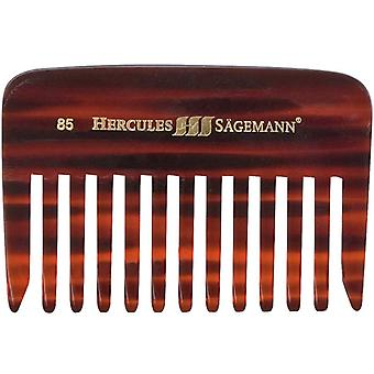 Hercules Sagemann Beard Comb Long Toothed Sawcut 9cm