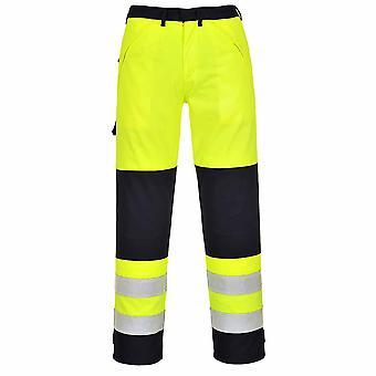 Portwest - Salut-Vis Fire Salut-Vis Résister pantalons de vêtements de travail