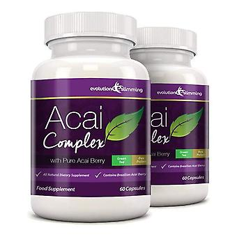 Acai Berry complexe 455mg - 120 Capsules (2 maand Supply) - Acai Berry - evolutie afslanken
