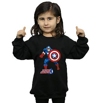 Marvel Girls Captain America The First Avenger Sweatshirt