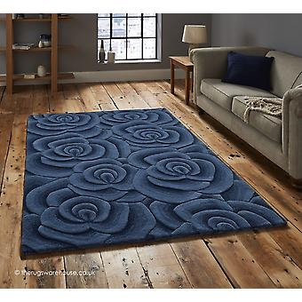 Valentine blauw tapijt