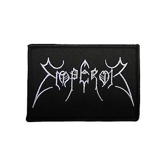 Emperor Patch Original Band Logo Official New Black Cotton Sew On 9cm x 6cm