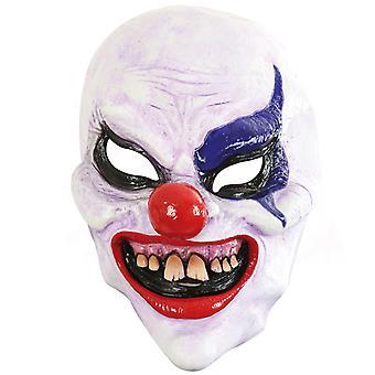 Korku palyaço Lateks Üç Çeyrek Maske Halloween Shocker