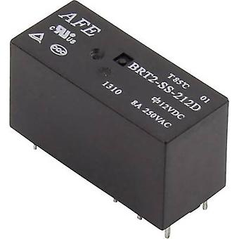 AFE BRT2-SS-205D PCB relay 5 V DC 8 A 2 change-overs 1 pc(s)