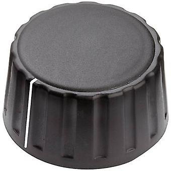 Mentor 4334.6001 Control knob + hand Black (Ø x H) 36 mm x 18.5 mm 1 pc(s)