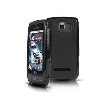 Cuerpo caja de guante para LG Optimus S - negro