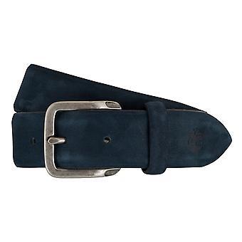 Timberland bälten mäns bälten läderbälte mocka blå 7439