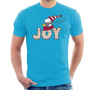 Peanuts Snoopy Christmas Joy Herren T-Shirt