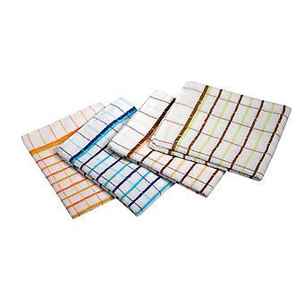 Ramon Premium Terry Check Tea Towels