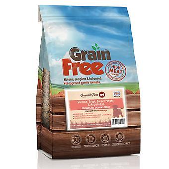 Greenhill Farm Grain Free Salmon, Trout, Swtpot & Asparagus