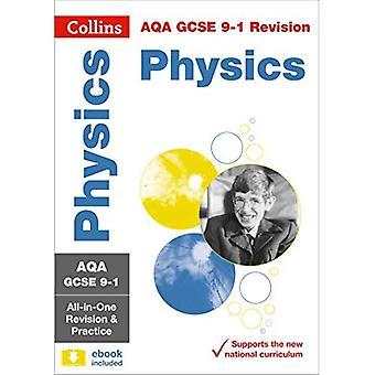 AQA GCSE física All-in-One revisión y práctica (Collins GCSE revisión y práctica: nuevo plan de estudios) (revisión de GCSE de Collins y de la práctica: nuevo plan de estudios 2016)