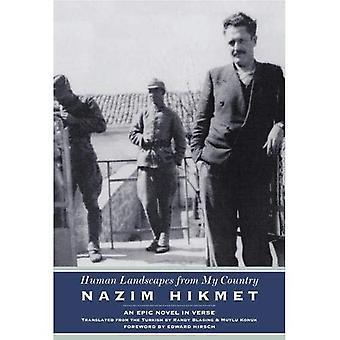 Paisagens humanas do meu país - um romance épico em verso (Karen e Michael Braziller livros)