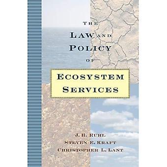 La legge e la politica dei servizi ecosistemici